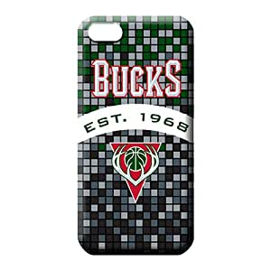 iphone 4 4s phone carrying cases Colorful Appearance pattern milwaukee bucks nba basketball