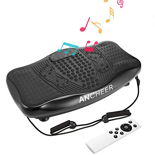 ANCHEER Fitness Massage Vibration Plate, Remote Control Whol