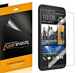 [6-Pack] Supershieldz- HTC Desire 601 (Virgin Mobile) High Definition Clear Screen Protector + Lifetime Replacements Warranty [6-PACK] - Retail Packaging