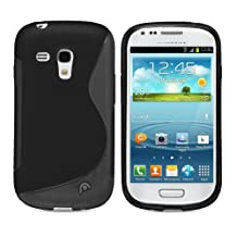 Fosmon DURA S Series TPU Case for Samsung Galaxy S III mini / GT-I8190 - Black (Fosmon Retail Packaging)