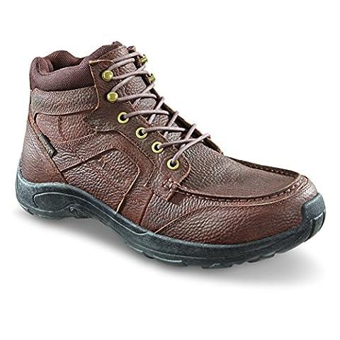 Guide Gear Men's Premium Waterproof Chukka Shoes, Canyon Brown, 11D - Canyon Guide