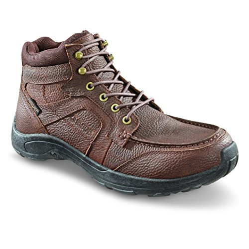Guide Gear Men's Premium Waterproof Chukka Shoes, Canyon Brown, 11D (Premium Waterproof Chukka)