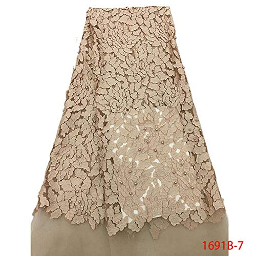 Latest Nigerian Tulle Lace French Net Beaded Lace Fabric for Nigerian Wedding Embroidery African Lace Fabric,Picture 13