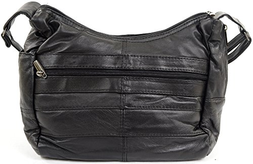 Stylish Soft Ladies Leather Womens Bag Shoulder Womens Ladies Handbag Nappa FvtIgHn