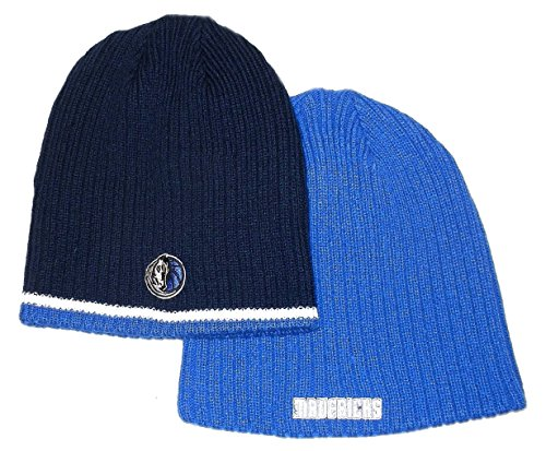 Dallas Mavericks new NBA Team Player Reversiible Flex Knit Hat-One Size OSFA