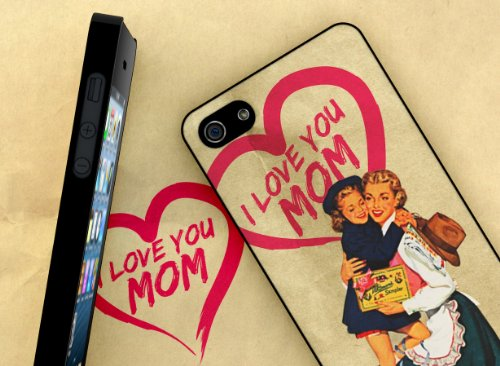 Master Case - Coque iPhone 5 Vintage Case - Love Mom