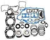 Kawasaki Mule 2500, 2510, 3000, 3010 (KAF620) Engine Rebuilt Kit with 2 Standard Pistons and Rings