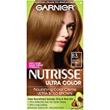 Garnier Nutrisse Ultra Color Nourishing Color Creme, B3 Golden Brown (Packaging May Vary)