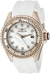 Invicta Women's 21381 Wildflower Analog Display Quartz White Watch