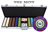 Claysmith Gaming 600-Count 'The Mint' Poker Chip Set in Aluminum Case, 13.5gm