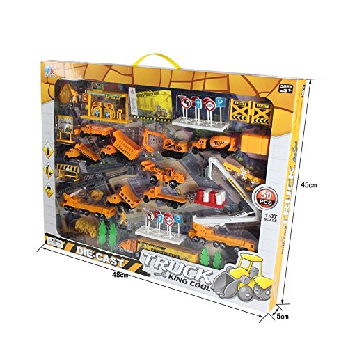 XY Toys 50 Piece Construction Roadblocks product image