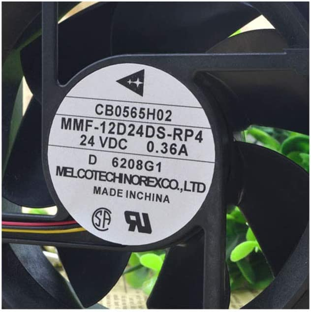 Cytom for Mitsubishi Inverter Fan MMF-12D24DS-RP4 12cm 12038 24V 0.36A Radiator