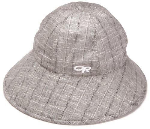Outdoor Research Women's Arroyo Bucket Sun Hat, 182-Pewter/White, Medium