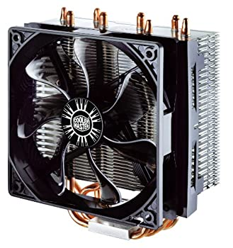 Cooler Master Hyper Rr-t4-18pk-r1 Cpu Cooler With 4 Direct Contact Heatpipes, Intelamd With Am4 Support 1