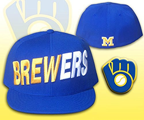 Milwaukee Brewers SCOREBOARD Fitted Size 7 1/4 Cooperstown Collection Hat Cap - Team -