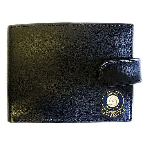 Wigan Athletic Football (Football Club Wallets-Wigan Athletic Football Club Genuine Leather Wallet)