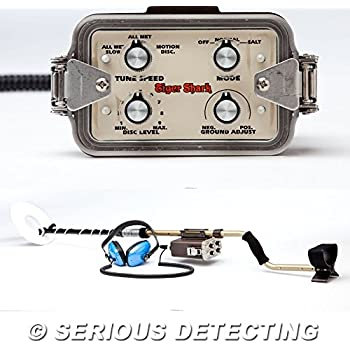 """Tesoro Tiger Shark Metal Detector with 8"""" Search Coil and"""