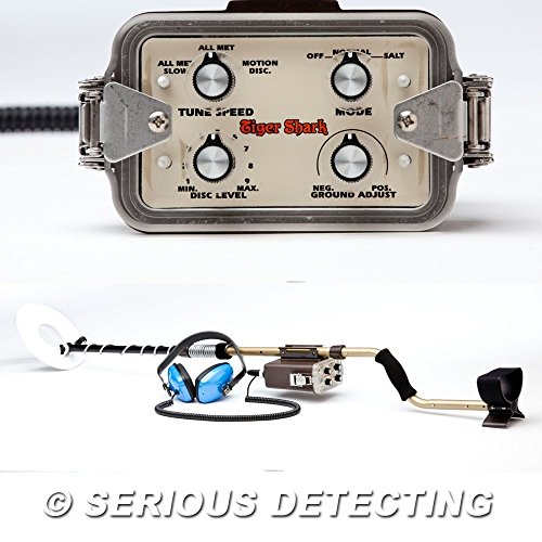 Tesoro Tiger Shark Metal Detector with 8
