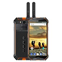 Unlocked Rugged Cell Phone Ulefone Armor 3T IP68 Triple Proofing Walkie Talkie Outdoor Cell Phone Android 8.1 5.7 FHD Octa Core 4GB +64GB 21MP 10030mAh Battery