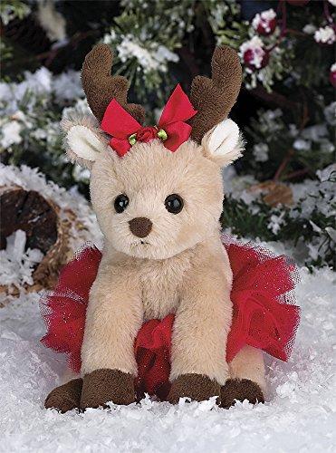 Bearington Darling Dancer Christmas Plush Stuffed Animal Ballernia Reindeer 6