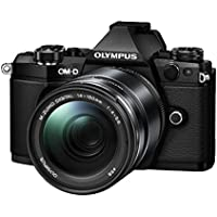 Olympus E-M5 Mark II BODY + 14-150mm II lens Kit Black - International Version (No Warranty)