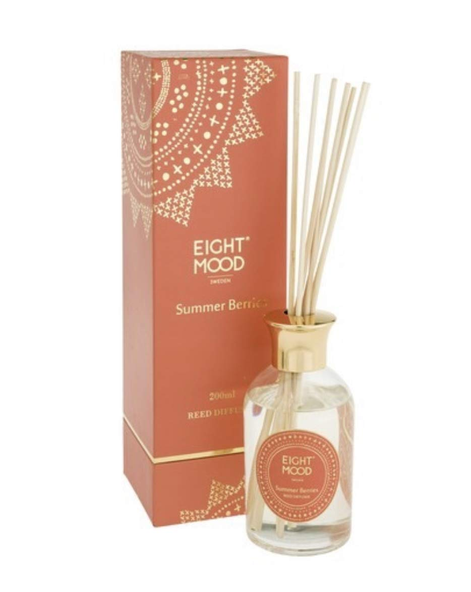 Eightmood Gold Mandala Essential Oil Diffuser Summer Berries Scent Home Decor Fragrance by Eightmood
