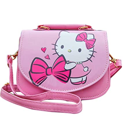 ad9adac71 Amazon.com: Kerr's Choice Hello Kitty Bag for Girls | Hello Kitty Crossbody  Purse | Girls Cat Bag: Toys & Games