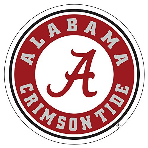 Alabama Crimson Tide Decals (NCAA Alabama Crimson Tide Premium Vinyl Decal (6