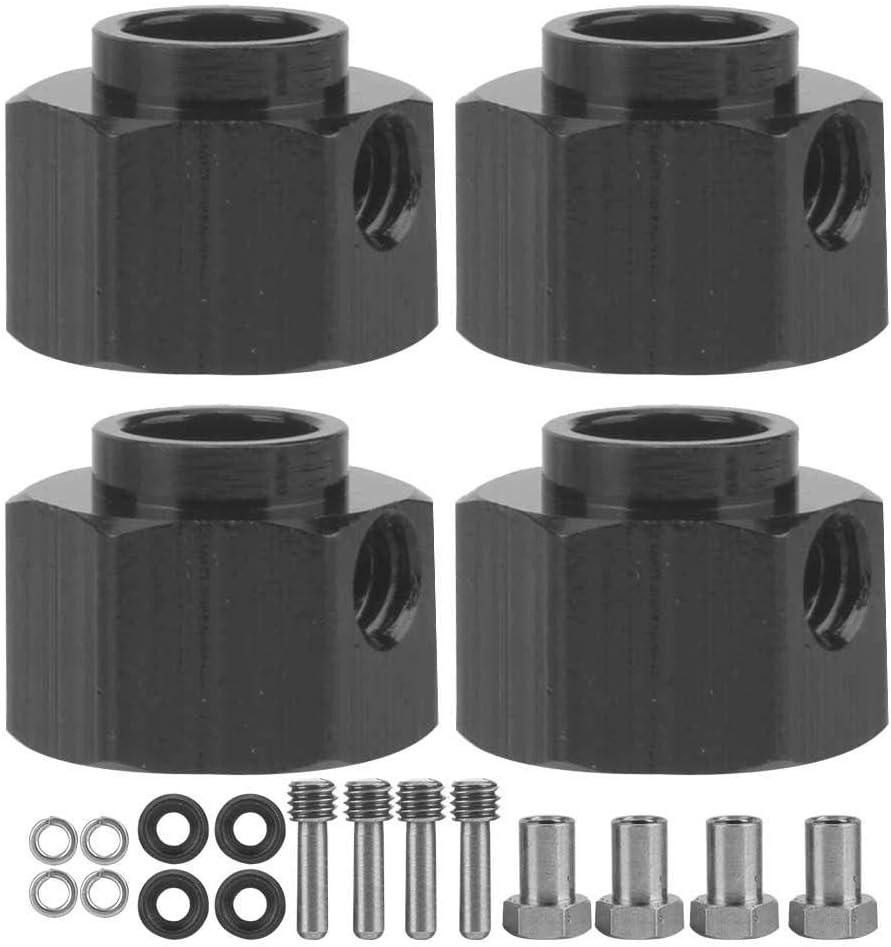 VGEBY1 El combinador de la Rueda 4pcs, Conjunto de acoplador del combinador del Adaptador del Eje de Widen del Metal cupo para 1/10 Coche de RC(8mm)