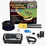 High Tech Pet Humane Contain HC-8000 Electronic Dog Fence Ultra System