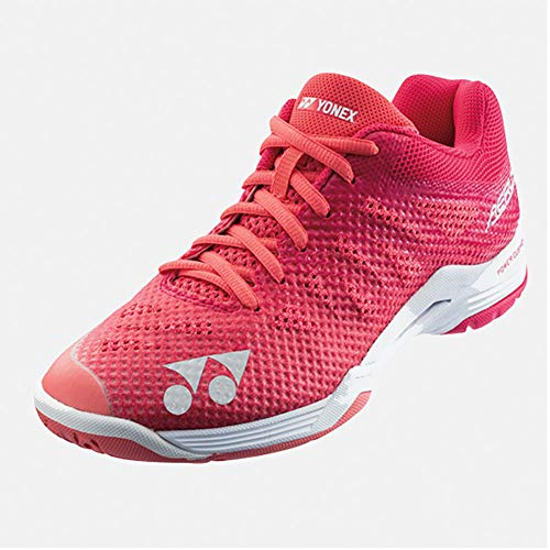 Yonex Power Cushion Aerus 3 Womens Indoor Court Shoe (Rose) (7.5)