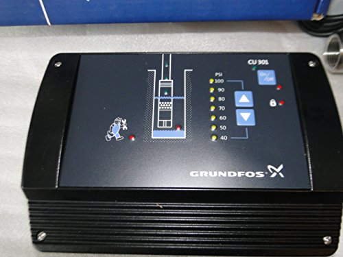GRUNDFOS SQE CU301 Constant Pressure Control Box Variable Speed + Transducer by Grundfos