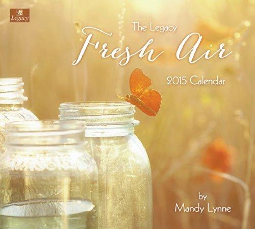Legacy Publishing Group, Inc. 2015 Wall Calendar, Fresh Air by Mandy Lynne - Folk 2015 Calendars Art Wall