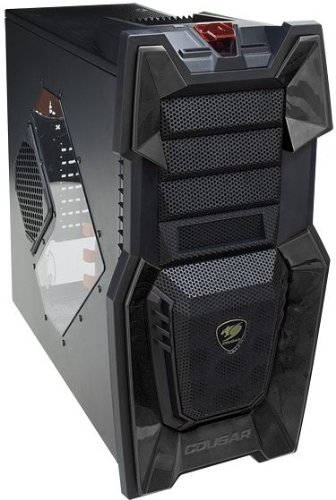 COUGAR Gaming Challenger Midi-Tower Negro carcasa de ordenador - Caja de ordenador (Midi