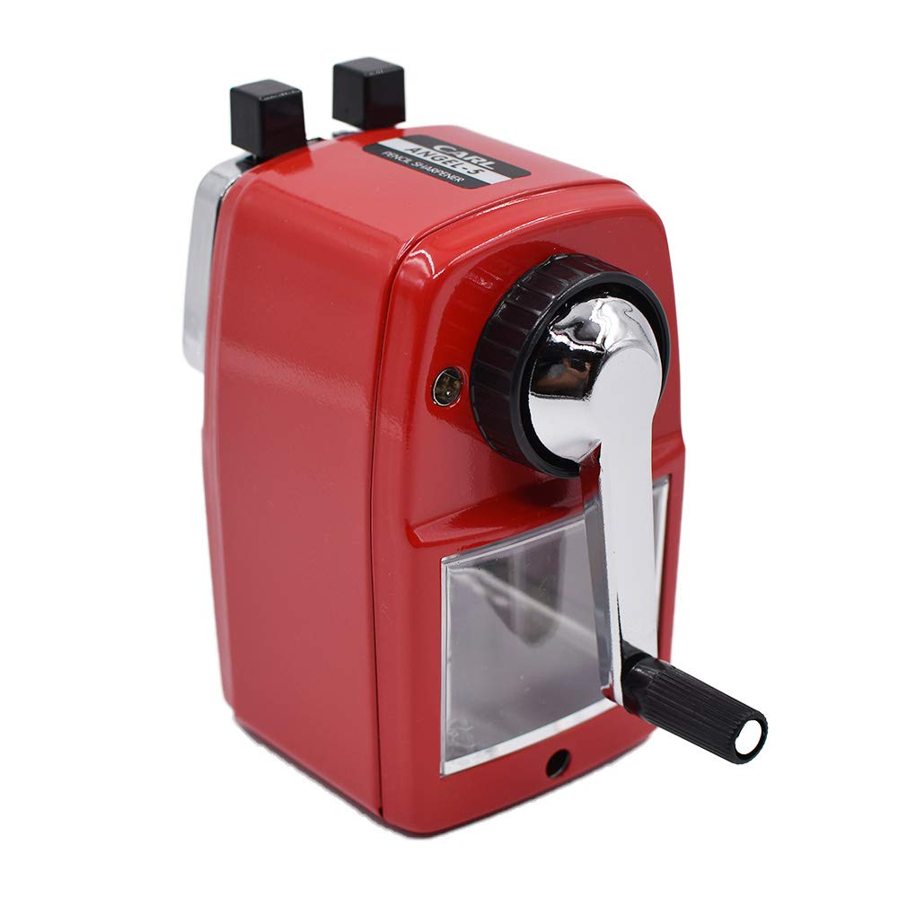 Quiet for Office Carl Angel-5 Pencil Sharpener Red Home and School
