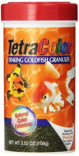 Tetra 16441 TetraColor Goldfish Granules, 3.52-Ounce, 250-Ml -