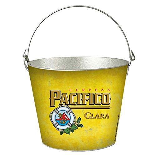 Pacifico Logo Beer Cooler Metal Ice Bucket