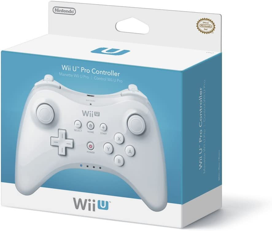 Amazon.com: Wii U Pro Controller - White: