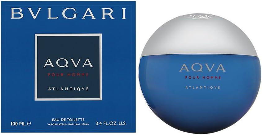 BVLGARI Aqva Atlantiqve eau de toilette Hombres 100 ml - Eau de toilette (Hombres, 100 ml, Aerosol, 1 pieza(s))
