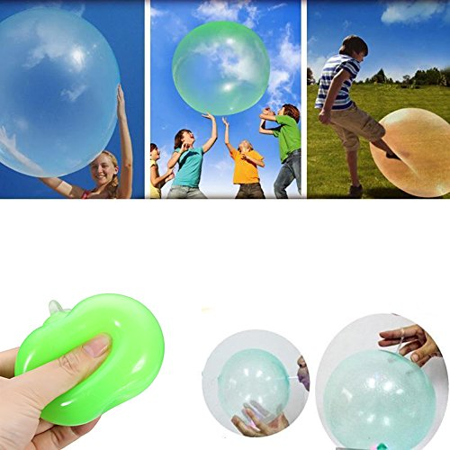Rumble Light Gun (Amusement Park - 4pcs Inflatable Fun Ball Bubble Ball Ø 40cm Pink Purple Green Yellow - Expansive Burp Orb Babble Ballock Ripple Testicle Belch Clump Burble Bollock Gurgle Clod)
