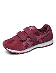 Health shoes ladies and breathable mesh sports shoes/Board shoes/ non-slip shoes wear mother/[Slip resistant shoes Mom]