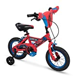 Huffy Bicycle Company 12' Marvel Spider-Man Boys Bike by Huffy, Handlebar Plaque, Red