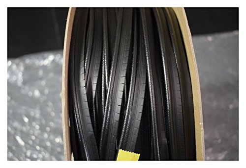 Black Marine Vinyl Welt Cord Piping Outdoor Automotive Upholstery By The -