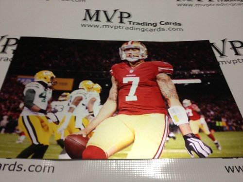 Colin Kaepernick 15x10 San Francisco 49ers vs Green Bay Packers Metallic Chromium Photo (Green Bay Packers Vs San Francisco 49ers)