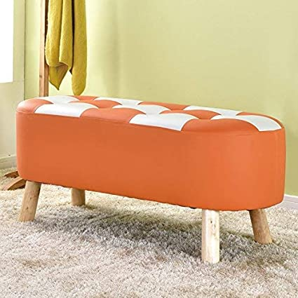 Amazon.com: SED Chair - Change Shoes Stool Wood Sofa Stool ...