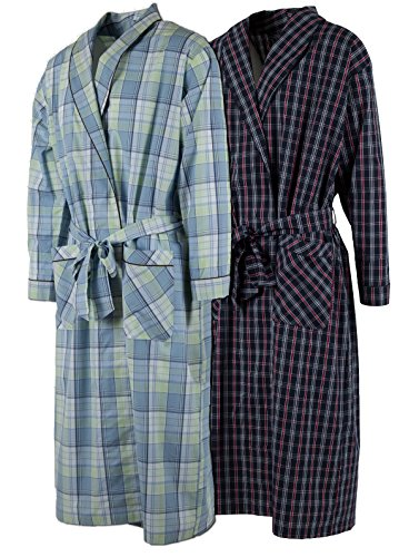 Buy mens cotton robe