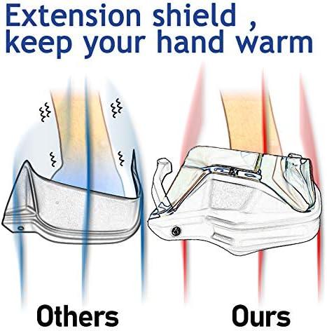 LoraBaber Motorrad Handschutz Handschutz Windabweiser Shield Lenker Handschutz f/ür BMW F800GS R1250GS R1250GS ADV R1200GS klar
