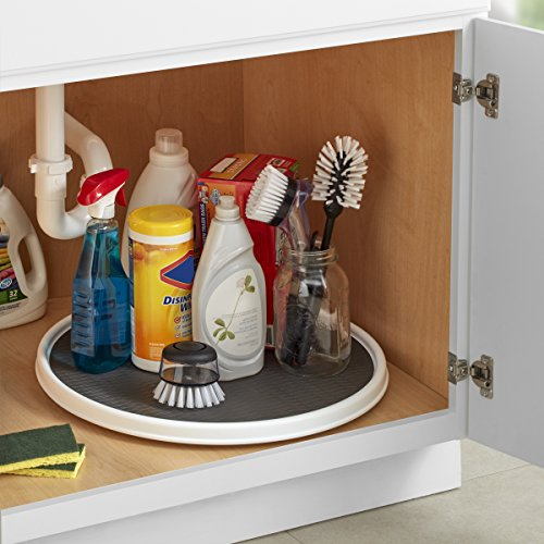 Kitchen Cabinet Turntable: Copco 255-0186 Non-Skid Pantry Cabinet Lazy Susan