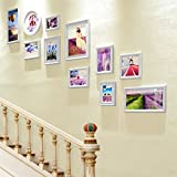 ZGP Home@Wall photo frame Hallway Staircase Photo Wall Frame Wall Combination Photo Wall Creative Living Room Bedroom Decorative Photo Frame Wall (Color : A, Size : 16895CM)