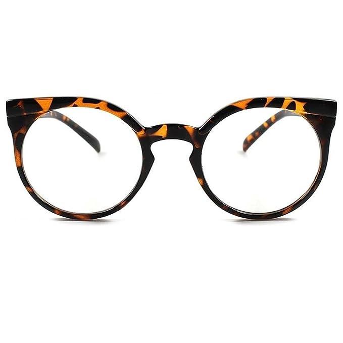 Occhiali neutri KISS® - Diva CAT EYE Retrò - montatura da vista DONNA stile RIHANNA fashion tondi - NERO KEsbZGAK